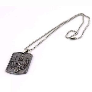 Other - Brand New Stainless Steel Necklace Dog Tag Pendant